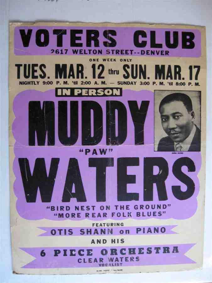 Muddy Waters 68 Denver